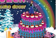 Frozen Cake Decor