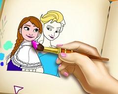 Frozen Coloring Book