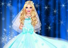 Frozen Diva Wedding Dress