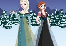 Frozen Dress Up