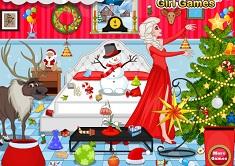 Frozen Elsa Christmas Room