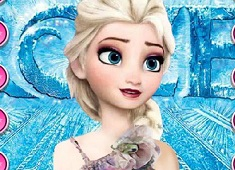 Frozen Elsa Dress Up