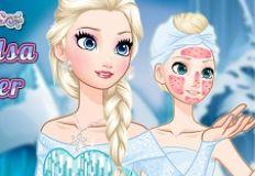 Frozen Elsa Makeover
