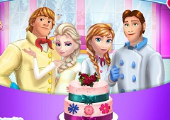 Frozen Familly Cake
