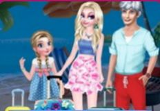 Frozen Family Summer Holiday