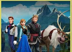 Frozen Friends Puzzle