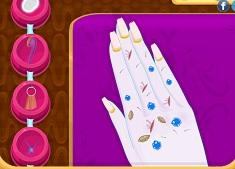 Frozen Princess Manicure
