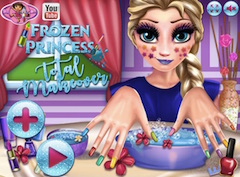 Frozen Princess Total Makeover