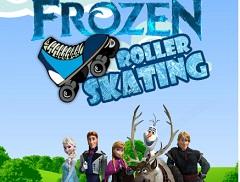 Frozen Roller Skateing