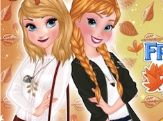 Frozen Sisters Autumn Trends