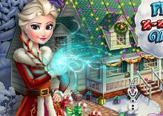 Frozen Xmas House Makeover