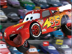 Funny Lightning McQueen Puzzle