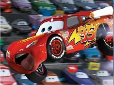 Funny Lightning McQueen Puzzle