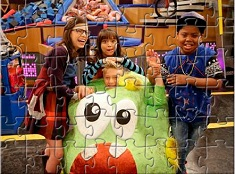 Game Shakers Characters Puzzle