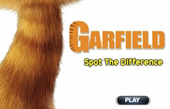 Garfield Spot the Differences