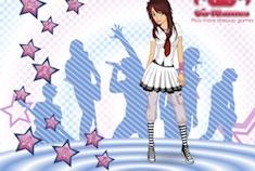 Glamorous Punk Girl