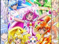 Glitter Force Puzzle
