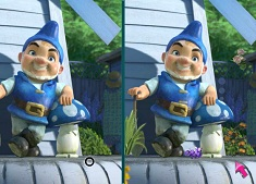 Gnomeo and Juliet Spot the Differences