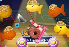 Goldfish Fun Catapult Chaos