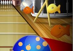 Goldfish Fun Rock n Roll Bowling