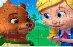 Goldie and Bear Characters Puzzle