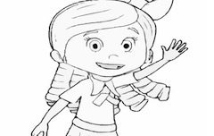 GOLDIE COLORING PAGE GOLDIE AND BEAR GAMES