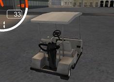 Golf Cart City Driving