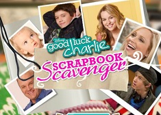 Good Luck Charlie Scrapbook Scavenger