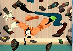 Goofy and Remote Controls Puzzle