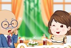Grandparents Sushi Date