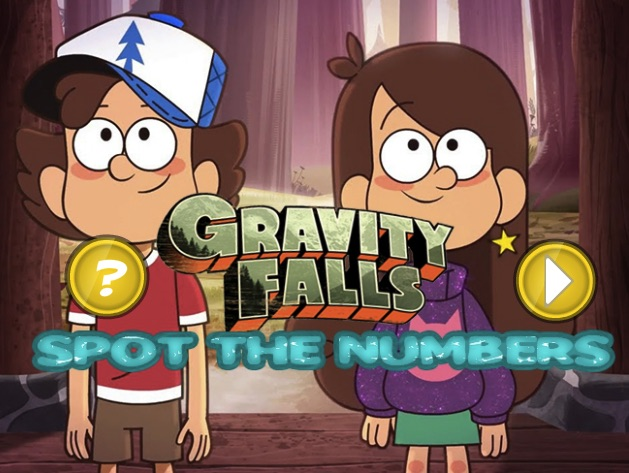 Gravity Falls Hidden Numbers