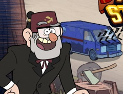 Gravity Falls The Great Stanmobile Escape