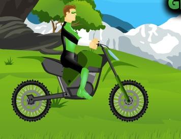 Green Lantern Dirt Bike Races