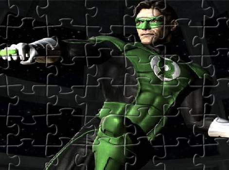 Green Lantern Fight Puzzle