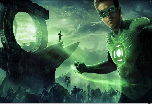 Green Lantern Hidden Alphabets