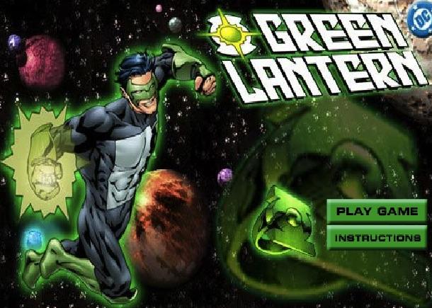 Green Lantern Robot Shooting