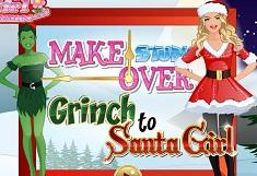 Grinch to Santa Girl