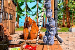 Grizzly and the Lemmings Puzzle