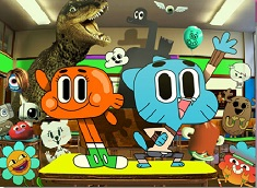 Gumball and Darwin at School Puzzle