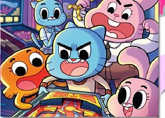 Gumball and Family Arcade Puzzle