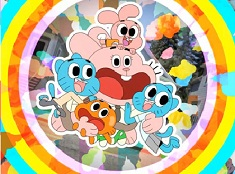 Gumball and Family Puzzle