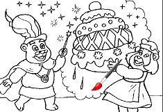 Gummy Bears Create a Cake
