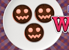 Halloween Cooking Whoopie Pies