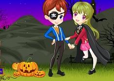 Halloween Love Dress up