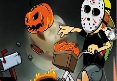 Halloween Newspaper Boy Halloween Special
