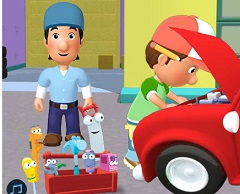 Handy Manny Garage Rescue
