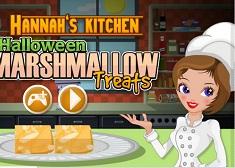 Hannah Halloween Marshmallow Treats