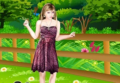 Hannah Montana Dress Up 3