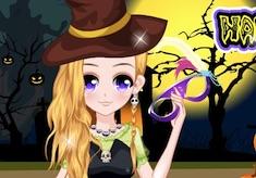 Happy Halloween Girl