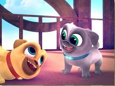 Happy Puppy Dog Pals Puzzle
